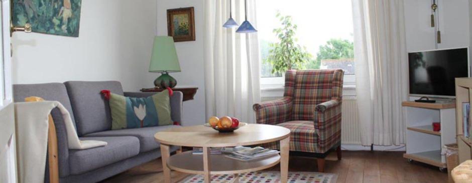 Gemütliches Wohnzimmer Schleswig