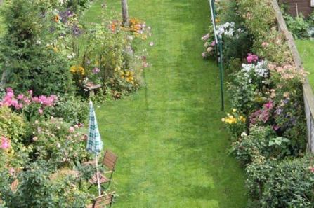 Ruhiger Garten Schleswig