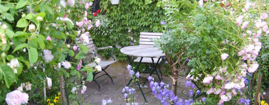 Gemütlicher Garten Ferienwohnung Schleswig